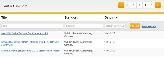 SAP job search