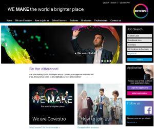 career website covestro